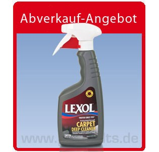 Lexol Carpet Deep Cleaner, Auto-Teppichreiniger