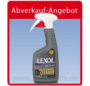Lexol Multi-Surface Cleaner Spray, für Leder-, Vinyl- und Gummi