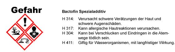 WAGNER Bactofin CLP/GHS Verordnung