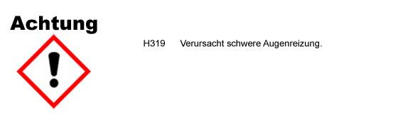 Premium Gummipflege und Gummireiniger CLP/GHS Verordnung
