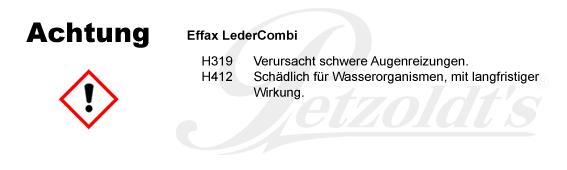 Effax LederCombi CLP/GHS Verordnung