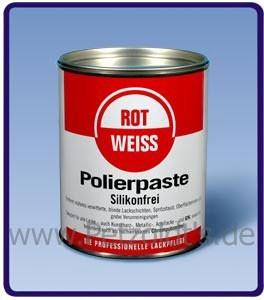 polierpaste lackreiniger rotweiss 750 g petzoldts professionelle fahrzeugpflegemittel. Black Bedroom Furniture Sets. Home Design Ideas