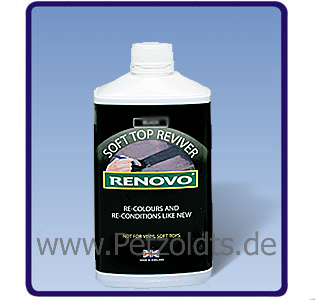 cabrio stoffverdeck f rbung braun 500 ml renovo petzoldts professionelle. Black Bedroom Furniture Sets. Home Design Ideas
