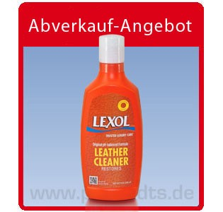 Lexol Leather Cleaner, Lederseife 236ml