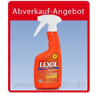 Lexol Leather Cleaner, Lederseife 2× 500 ml