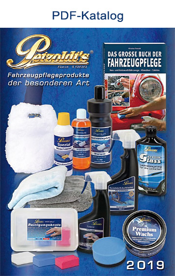Petzoldt's Fahrzeugpflegeprodukte Katalog