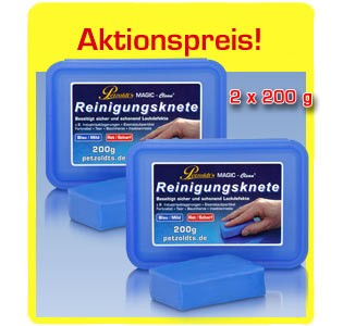 2x Reinigungsknete 200g, MAGIC-Clean, Lackreinigung