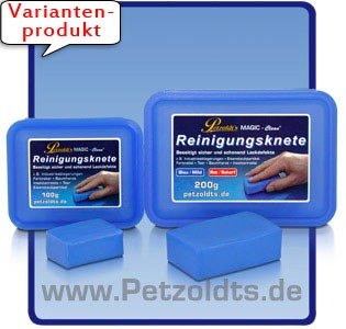 Petzoldts MAGIC-Clean Reinigungsknete zur Lackreinigung, Blau
