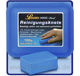 Petzoldts MAGIC-Clean Reinigungsknete, 100g, Lackreinigung