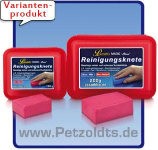 Petzoldts MAGIC-Clean Reinigungsknete, Rot, scharf